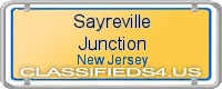 Sayreville Junction board